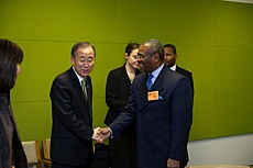 U.N. Secretary-General meeting the U.S. Congressional Delegates 2