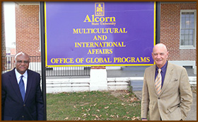 Alcorn State University hosts Executive Head of the UN Democracy Fund